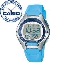 Đồng hồ nữ dây nhựa Casio Standard Anh Khuê LW-200-2BVDF