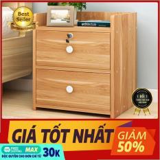 (NỘI THẤT) Tủ đầu giường 2 ngăn kéo, tủ đầu giường, táp đầu giường, tủ nội thất phòng ngủ