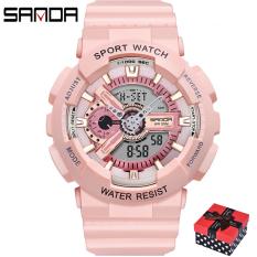 Đồng hồ Nữ thể thao SANDA ROXIE, Chạy 2 Máy Cao Cấp Của Nhật, Chống Nước Rất Tốt – Đồng hồ nữ thể thao, Đồng hồ nữ thời trang, Đồng hồ nữ chống nước, Đồng hồ nữ đẹp, Đồng hồ nữ hàn quốc, Đồng hồ nữ giá rẻ