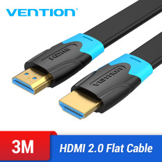 Vention dây cáp dẹt HDMI 2.0 HDMI to HDMI Cable HDMI 2.0 4K 3D 60FPS Cable Ethernet Adapter flat line cáp HDMI 2.0 For Splitter Switch TV LCD Laptop PS3 Projector Computer Cable HD HDMI 2.0 Cable