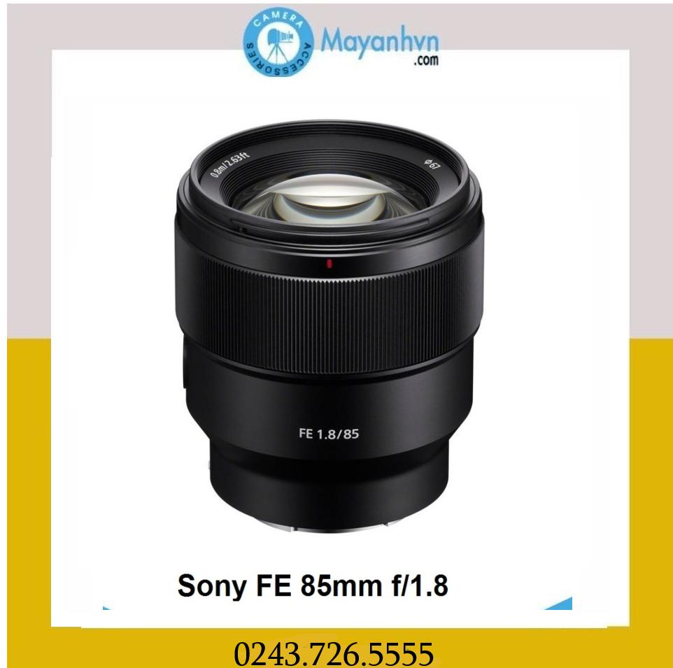 [Trả góp 0%]Ống kính Sony FE 85mm f/1.8 (hàng chính hãng)