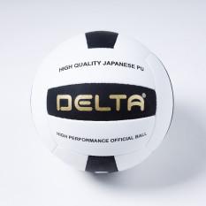 Bóng chuyền cao cấp DELTA 8287-5C chất liệu da tổng hợp PU microfiber màu trắng