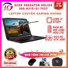 Laptop Chơi Game Acer Predator Helios 300 PH315-51, i7-8750H, VGA NVIDIA GTX 1060, Màn Full HD IPS, LaptopLC298