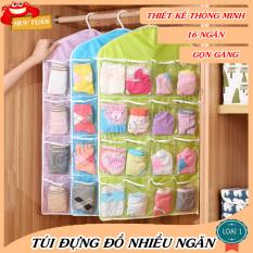 Túi treo 16 ngăn tiện dụng chứa đồ lót thời trang Huy Tuấn