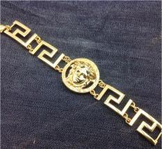 Lắc Tay Nam Mạ vàng 18k VS100 Siêu Sang – Đỉnh Cao Công Nghệ Kim Hoàn Bản Siêu To