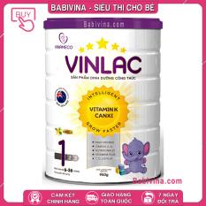[CHÍNH HÃNG] Sữa Vinlac 1 900g | Dinh Dưỡng Cho Trẻ 6-36 Tháng Tuổi Biếng Ăn, Chậm Lớn, Thấp Còi