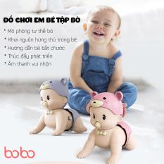 Đồ chơi cho trẻ em, đồ chơi em bé tập bò , mô phỏng tư thế bò khơi nguồn hứng thú,bé bắt chước thúc đẩy phát triển cho bé, âm thanh vui nhộn, chất liệu abs an toàn cho bé