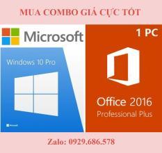 (Combo) Key Windows 10 Pro và Office 2016 Proplus