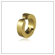 Bông tai Titan khóa còng EXO phong cách Hàn Kẹp Vành Tai