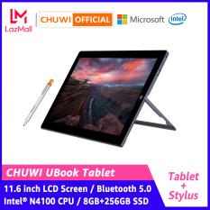 CHUWI Official UBook 2 in 1 Tablet Window 10 11.6 Inch | Màn hình IPS FHD 1920×1080 | Intel N4100 Quad Core 8GB / 256GB SSD | Wifi 2.4 / 5G 5.0