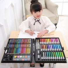 Bộ màu vẽ 150 chi tiết cho bé thỏa sức sáng tạo, Hộp màu 150 chi tiết – Hộp Bút Chì Màu Đa Năng