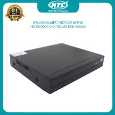 [HCM]Đầu ghi Vitacam NVR V8 dành cho camera IP không dây kết nối 8 kênh cùng lúc mẫu mới nhỏ gọn hỗ trợ đọc ổ cứng đến 4TB (đen) Nhất Tín Computer