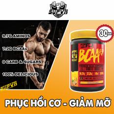 Mutant Bcaa 9.7 – Hỗ trợ phát triển cơ bắp và phục hồi cơ, chống dị hóa cơ 30ser