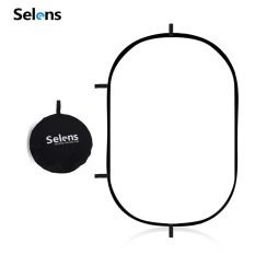 Selens Lighting Studio Soft Diffuser Panel Reflector Foldable with Carry Bag for Studio and Outdoor Portrait 150x200cm