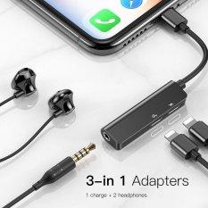 Cáp chuyển đổi iphone 3in1 Baseus L52 chính hãng, hỗ trợ game thủ pubg có míc đàm thoại