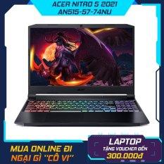 Laptop Acer Nitro 5 AN515-57-74NU i7-11800H | 8GB | 512GB | VGA RTX 3050Ti 4GB | 15.6′ FHD 144Hz | Win 10