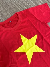 Áo cờ đỏ sao vàng (Việt Nam) Trẻ em – Vải đẹp, in đẹp – AVCN4 – Đồng phục Song Phú