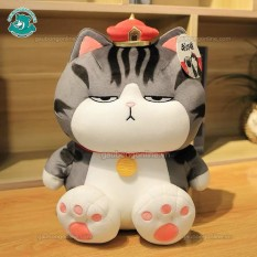 Mèo bông | Gấu bông mèo hoàng thượng béo chất nhung mịn , hàng cao cấp