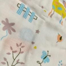 Gói 10 khăn xô in hoa xuất Nhật