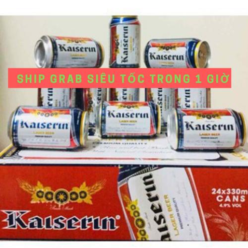 Bia Đức Kaiserin Lager (Vàng) -Thùng 24 lon -HSD;T9/21