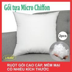 Ruột gối tựa lưng Microfiber ( 2 gối )