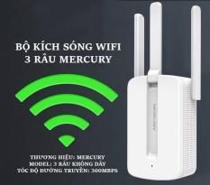 Bộ khuếch đại wifi MECURY 3 râu- kích sóng wifi