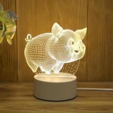 Đèn ngủ LED 3D – trang trí bàn – quà tặng độc đáo