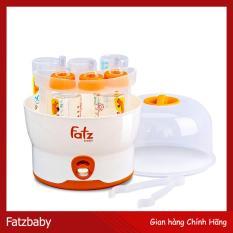 Máy Tiệt Trùng Hơi Nước 6 Bình Sữa & Phụ Kiện Free BPA Fatz (Phân Phối Chính Hãng)