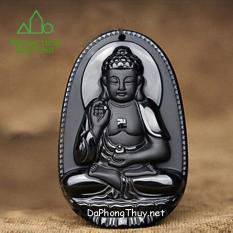 Phật Bản Mệnh 12 Con Giáp Núi Lửa Obsidian Tự Nhiên- Diệp Linh