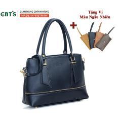 Túi xách nữ công sở thời trang CNT TX41 cao cấp (Kèm ví)