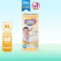 [GIẢM ĐẾN 40K ĐƠN 499K] Tã/Bỉm quần cao cấp Bobby Extra Soft Dry thun chân ngăn hằn Super Jumbo XL46