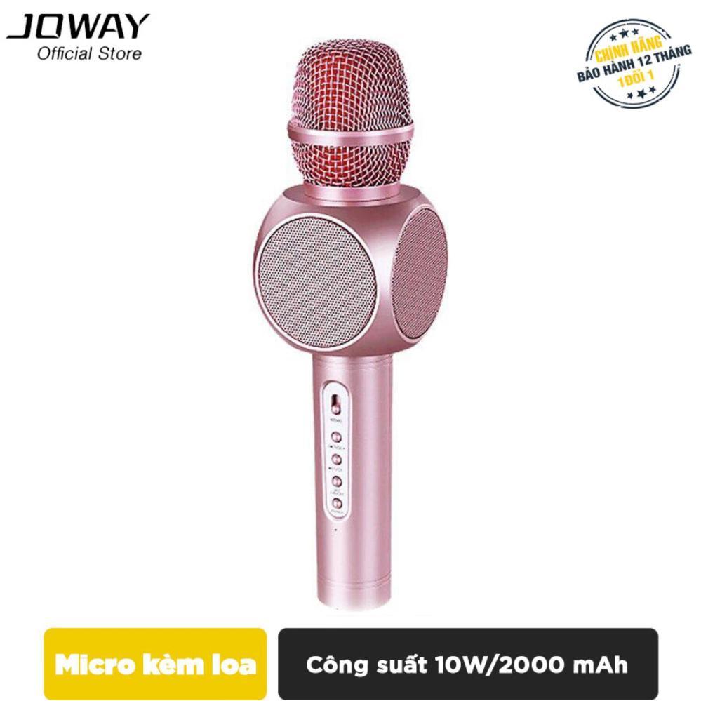 Micro karaoke tích hợp Loa Bluetooth JOWAY KGB01 cho smartphone,Samsung, iPad, iPhone - Hãng phân phối chính thức