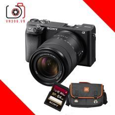 Máy ảnh Sony Alpha A6400 kit E 18-135 F3.5-5.6 OSS – Bảo hành 24 tháng – Tặng thẻ 64GB UX2, túi