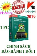 PHẦN MỀM DIỆT VIRUS KASPERSKY INTERNET SECURITY 1PC/Năm – 2019