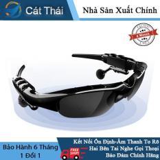 [Nhập ELMAY21 giảm 10% tối đa 200k đơn từ 99k]Tai nghe thông minh Wang Hung Cát Thái nhiều chức năng không dây mắt kiếng phân cực mắt râm kèm tai nghe nhét tai