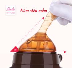 Núm Ti Bình sữa Hinata BS04 – Mô phỏng hoàn hảo như ti mẹ