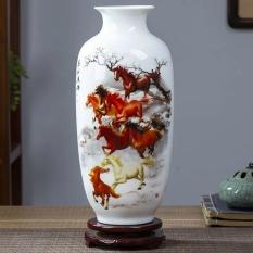 31CM Bình Gốm, Phòng Khách Phong Cách Trung Quốc, Hiện Đại Hoa Sắp Xếp Thủ Công Mỹ Nghệ Trang Trí Nội Thất