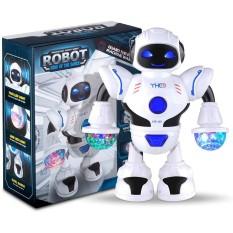 Đồ Chơi Trẻ Em Robot Biết Phát Sáng Và Nhảy Múa Theo Nhạc Cao Cấp