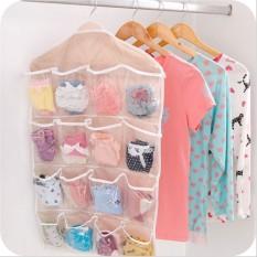 Túi vải treo đồ 16 ngăn đa năng tiện dụng – túi đựng đồ 16 ngăn