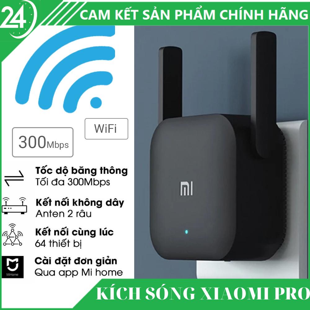 [BH 12 THÁNG] Bộ Kích Sóng WiFi Xiaomi – Thiết Bị Mở Rộng WiFi Xiaomi Mi Wifi Repeater Pro 300Mbps ,Chuẩn Wifi: IEEE 802.11b/g/n, 2 Râu WiFi 2*2 DBI Antenna 2.4GHZ Giúp Tăng Khả Năng Phát Sóng Xuyên Tường