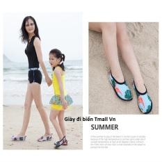 Giày đi biển cho gia đình gọn nhẹ rút nước bảo vệ chân nhiều size nhiều màu