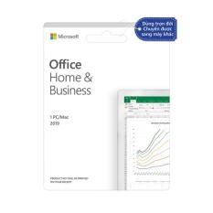 [Trả góp 0%]Phần mềm Office Home & Business 2019 |Dùng vĩnh viễn| Dành cho 1 người, 1 thiết bị | Word, Excel, PowerPoint | Outlook