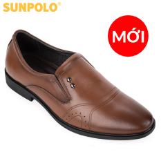 Giày nam da bò công sở SUNPOLO SPH310 (Đen, Nâu bò)