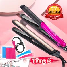 ⭐️⭐️Máy Uốn Duỗi Tóc 2in1 Phlips Điều Chỉnh Nhiệt Chuẩn Salon Siêu Bền Kẹp êm không rít tóc nóng nhanh Bảo hành 1 năm