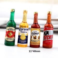 [HCM]Mô hình chai bia! phụ kiện trang trí nhà búp bê
