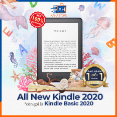 Máy đọc sách All-new Kindle 10th Generation – 2019 (4GB/8GB) (All-new Kindle 10th Generation – Now with a Built-in Front Light)