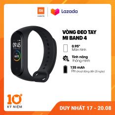 [MUA 2 GIẢM 100K – FREESHIP] Vòng đeo tay thông minh Xiaomi Mi Band 4 l Màn hình AMOLED 0.95 inch l 6 chế độ tập luyện l Hỗ trợ tiếng Việt l Chống nước 50m l HÀNG CHÍNH HÃNG