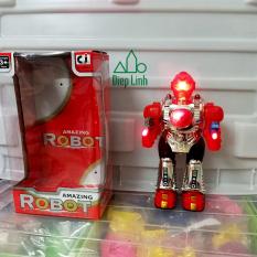 Đồ chơi siêu nhân robot Space Warrior có đèn nhạc tặng kèm pin – Diệp Linh