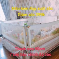 Thanh chắn giường 1m8 cao 90cm MẪU MỚI NHẤT 2019