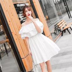 Quá đẹp luôn- sale sốc Váy bèo trễ vai DNA828